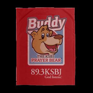 KSBJ Buddy the Prayer Bear Blanket